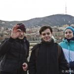 Tbilisi - centrum.