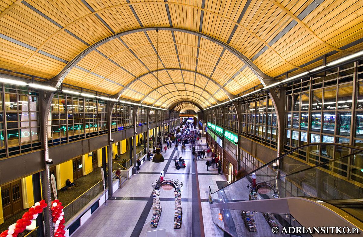 Dworzec we Wrocławiu
