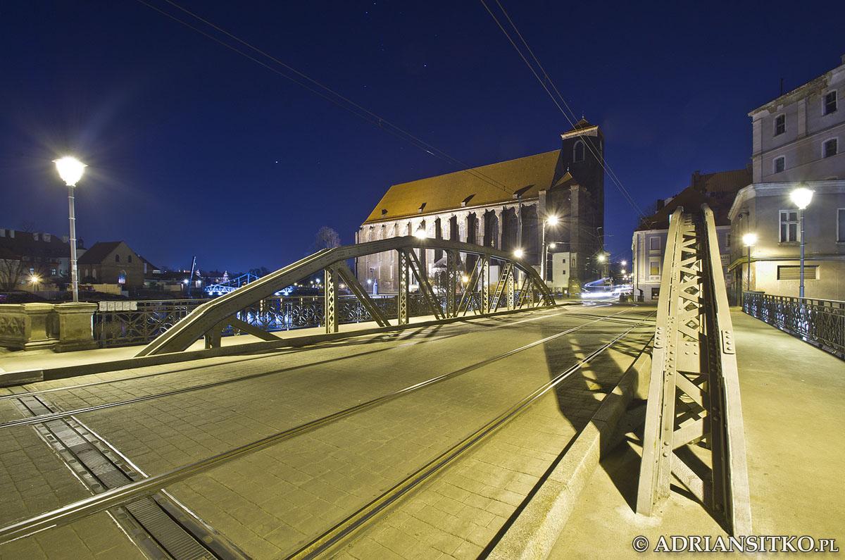 Most Młyński i Kościół Najświętszej Marii Panny