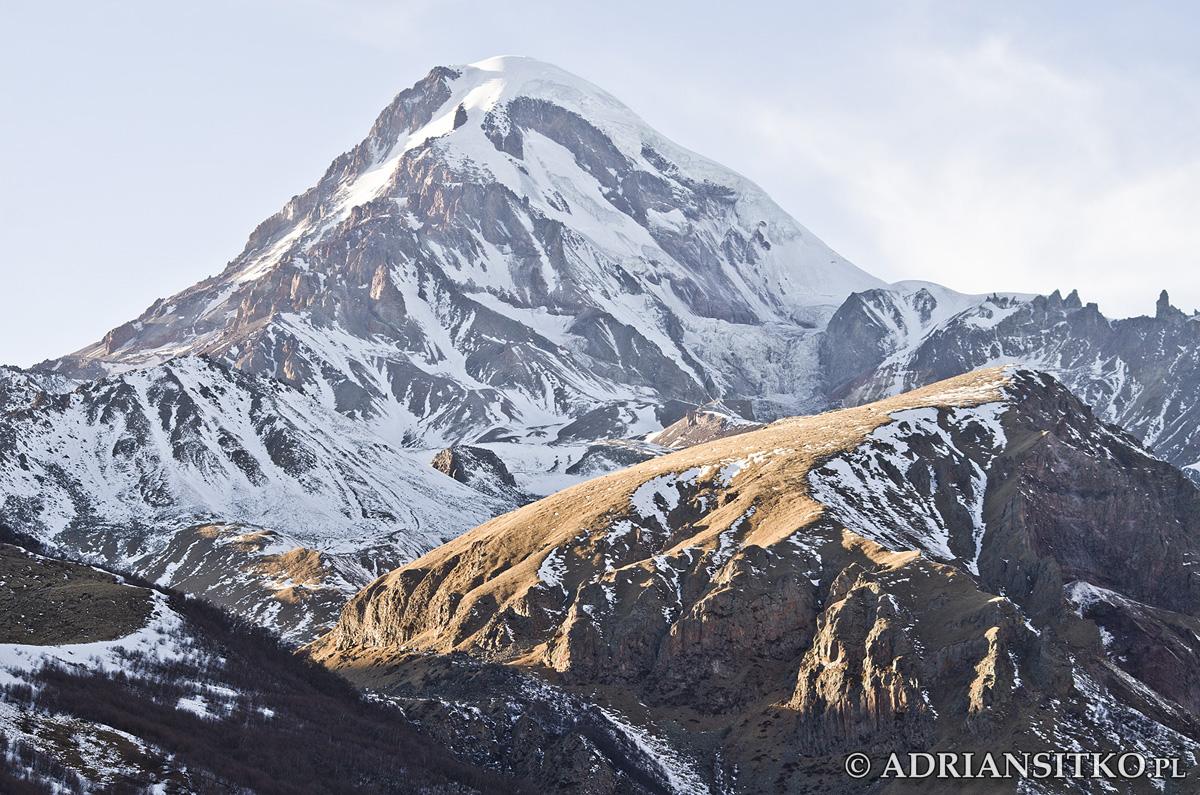 Pięciotysięcznik - góra Kazbek