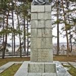 Surami. Pomnik Łesi Ukrainki