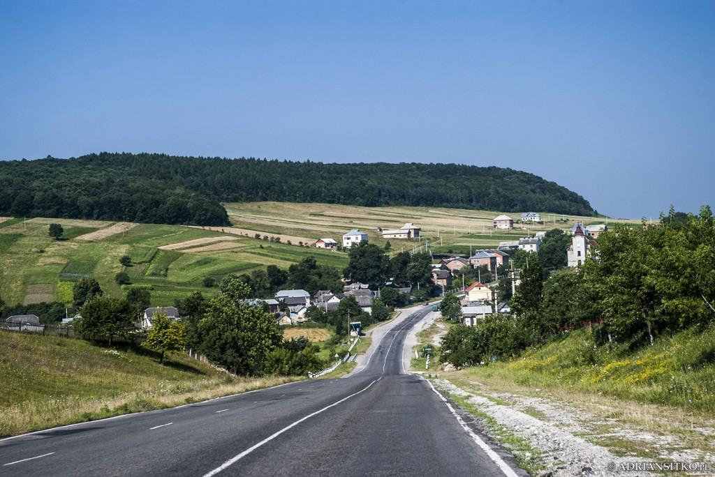 Widok na Szybalin - lato 2009.