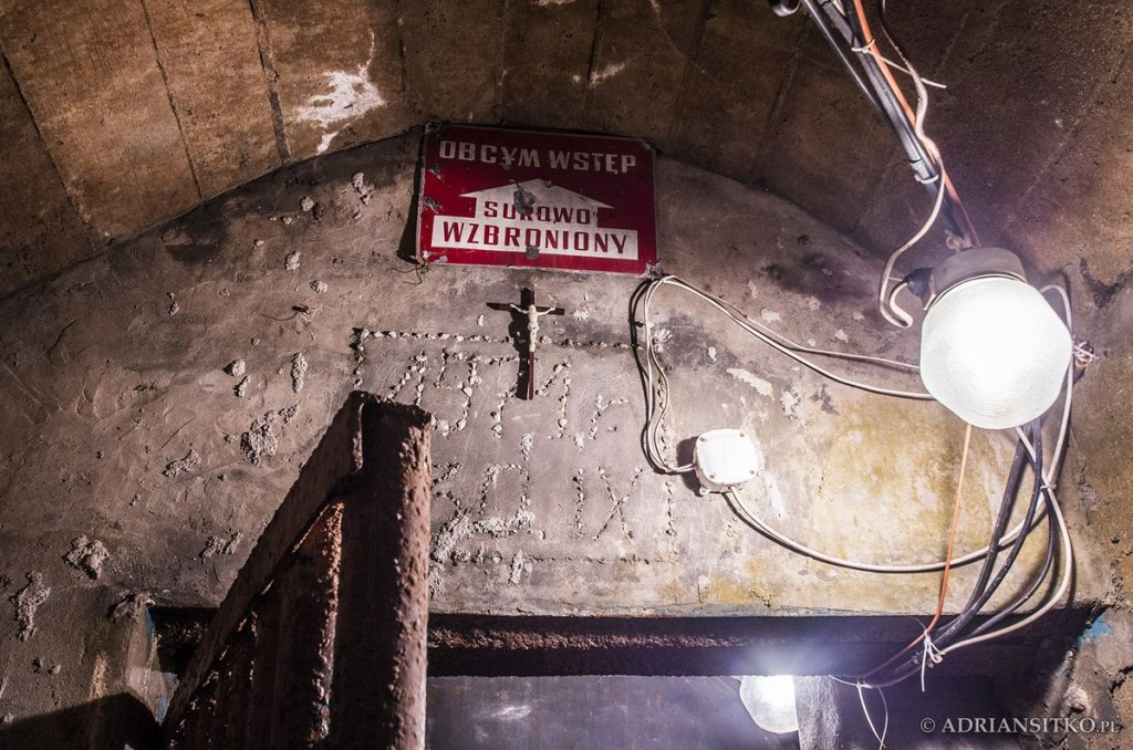 Wejście do podziemi - data przejęcia przez PAN.