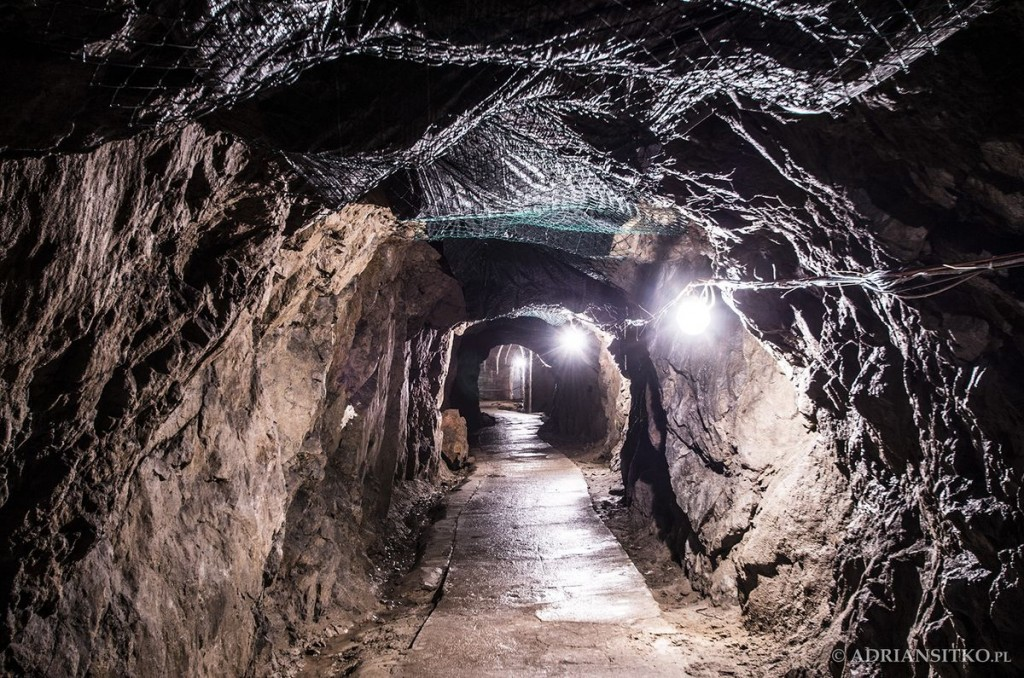 Podziemne tunele Zamku Książ.