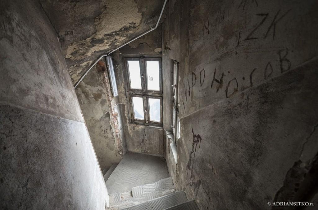 Zamek Książ, pomieszczenie nad V piętrem.