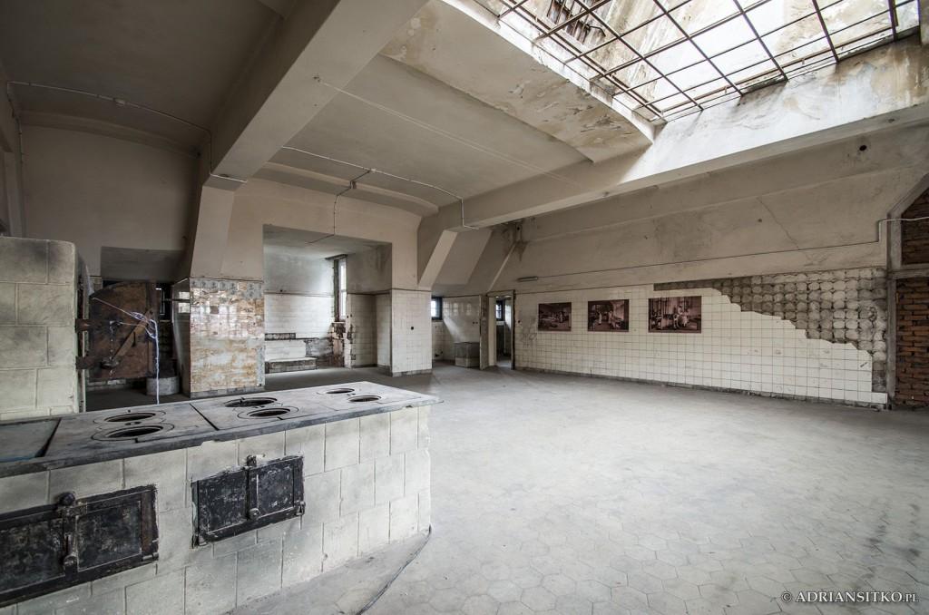 Zamek Książ, kuchnie zamkowe. V piętro.