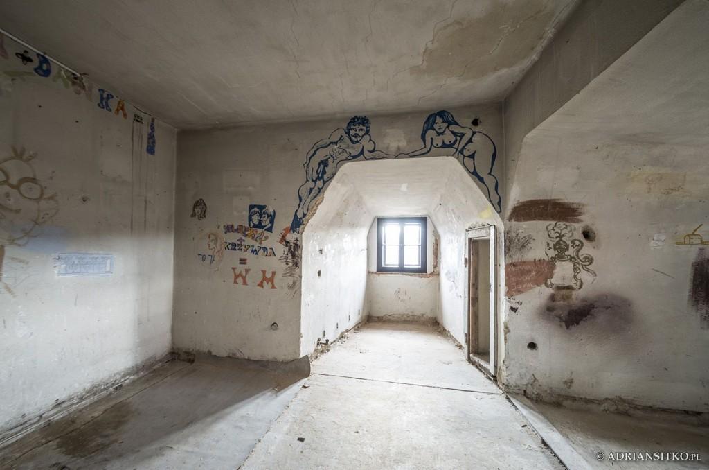 Zamek Książ, IV piętro. W niektórych pomieszczeniach odbywały się kolonie.